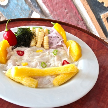 Cebiche Corvina Big Ben